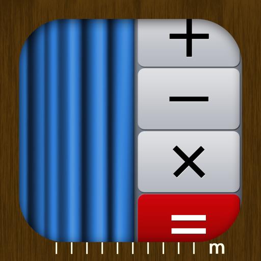 カーテン職人のためのiPhoneアプリ「カーテン計算機」をリリースしました!