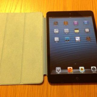 先日父にプレゼントしたiPad miniを母にもプレゼントしました!