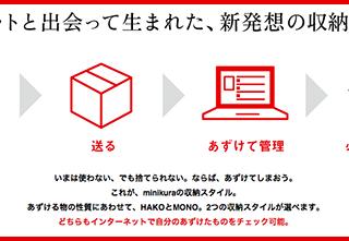 物を捨てられない人に朗報!「minikura(ミニクラ)」というサービスがすごい!