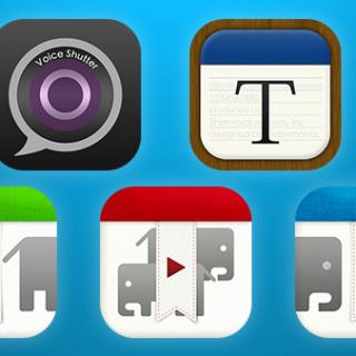 いままでリリースしてきたアプリの中で特に好きなアプリ5個