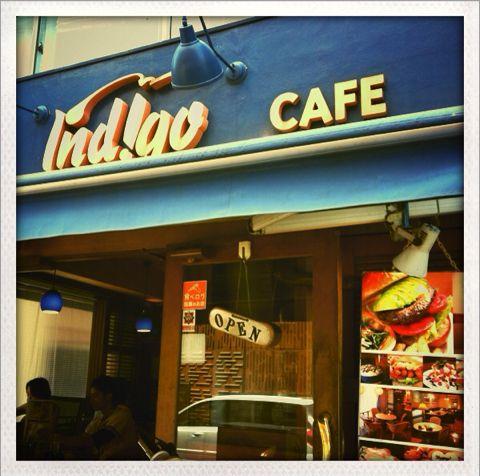 青山にあるハンバーガーがうまいカフェ「indigo」に行ってきた