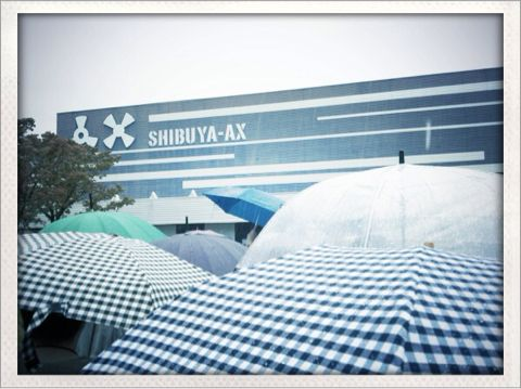 ラクリマ最後のライブ「Special Encore Night」を見に渋谷AXに行ってきました