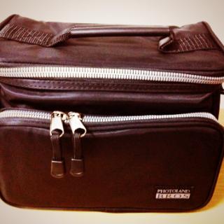 NEX-5N用にカメラバッグ「フォトランドブロス SPL-BSS-BK」買いました