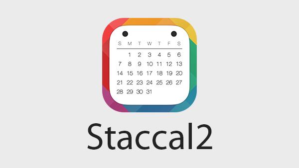 カレンダーアプリの決定版!Staccal2がフラットデザインでカッコ良くて使い勝手良くていい感じ!