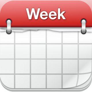 iPhoneのカレンダーアプリ「Week Calender」の超絶便利な機能を見つけた!