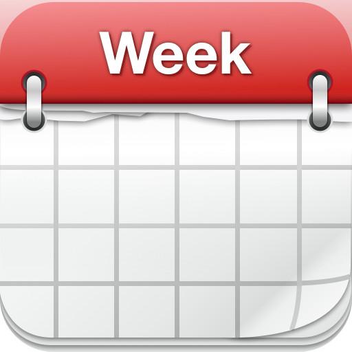 Week Calendarの自動アイコン機能が便利だった