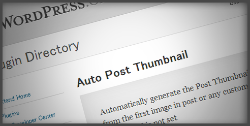 [WordPress]Auto Post Thumbnailで過去記事全てにアイキャッチ画像を入れた