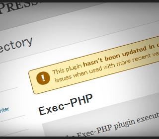 【WordPress】Exec-PHPを入れてウィジェットにPHPを書きこめるようにした