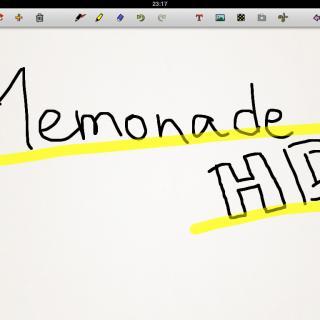 Memonade HDはセッティング図を書くのに最適だった