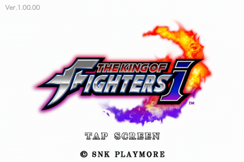 iPhone版KOF THE KING OF FIGHTERS-iやってみました