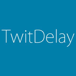 Twitterへのツイートを予約して投稿できるTwit Delay