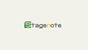 Stagenoteの公式サイトをオープンしました