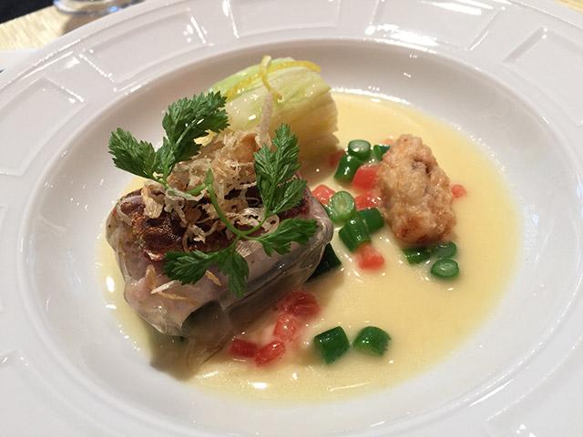 ラ・ロシェルのランチ魚料理