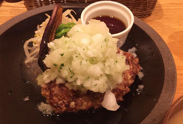 山本のハンバーグ 渋谷食堂の鬼おろしハンバーグ