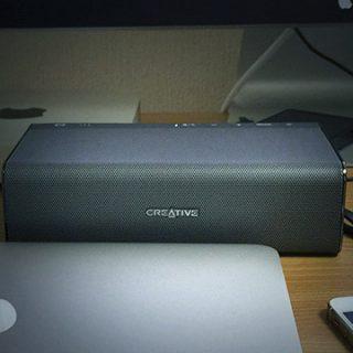 Sound Blaster RoarというBluetooth接続のワイヤレススピーカーがすごい良かった!