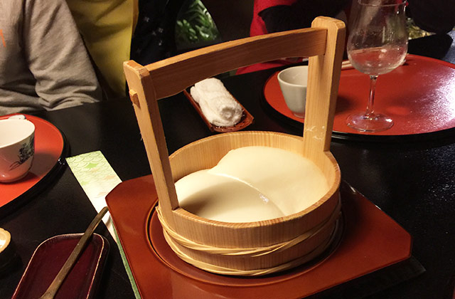 とうふ屋うかいの祝い膳 ざる豆腐