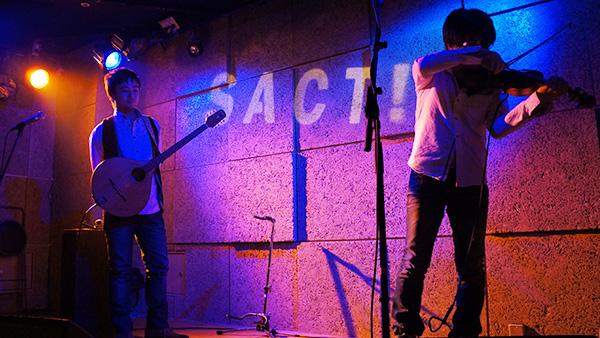 バンド名がShamrock Records!極上のアイリッシュサウンドを聴いてきました