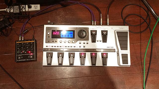 アマオト, World chordのギタリスト大谷大の使用エフェクター