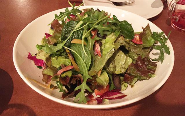 武蔵小山のパレット サラダ