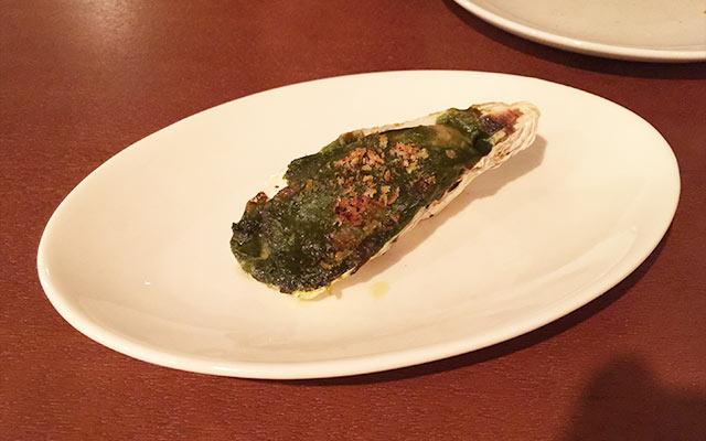 武蔵小山のパレット 牡蠣のグラタン