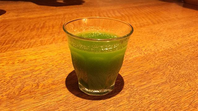 山本のハンバーグ高田馬場店の野菜ジュース