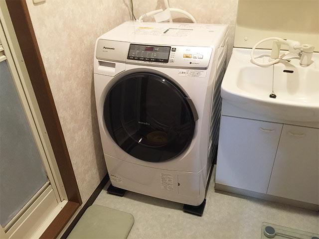 マンションタイプの洗濯機