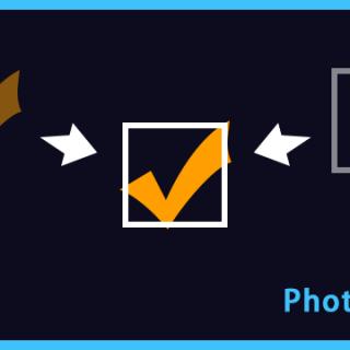 Photoshopでレイヤーを整列させるショートカットを作る方法