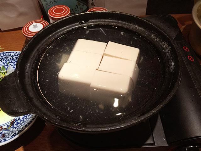 四十八漁場のとろとろ湯豆腐