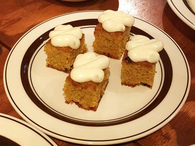 ブルックリンダイナー中目黒店のケーキ