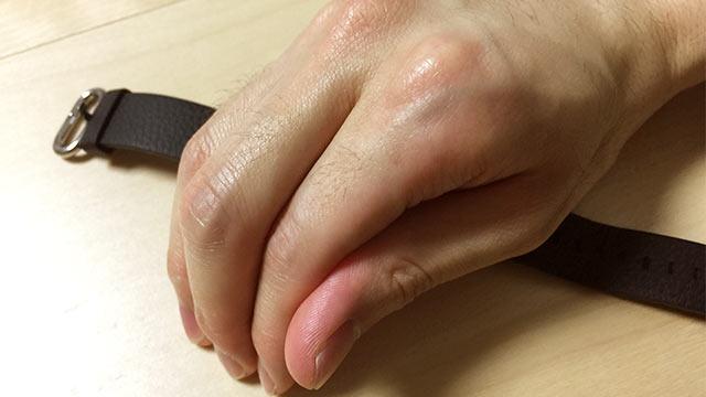 Apple Watchの基本操作 手で覆う