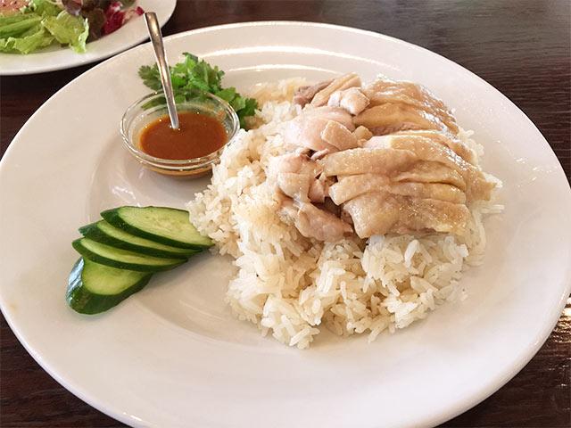 恵比寿cociのカオマンガイ