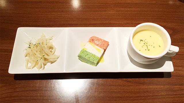 武蔵小山ガボットの前菜