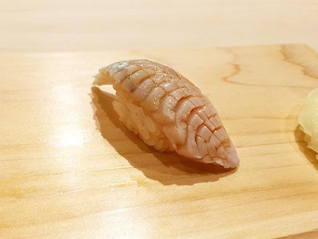 六本木の寿司屋 村瀬のさごしスモーク