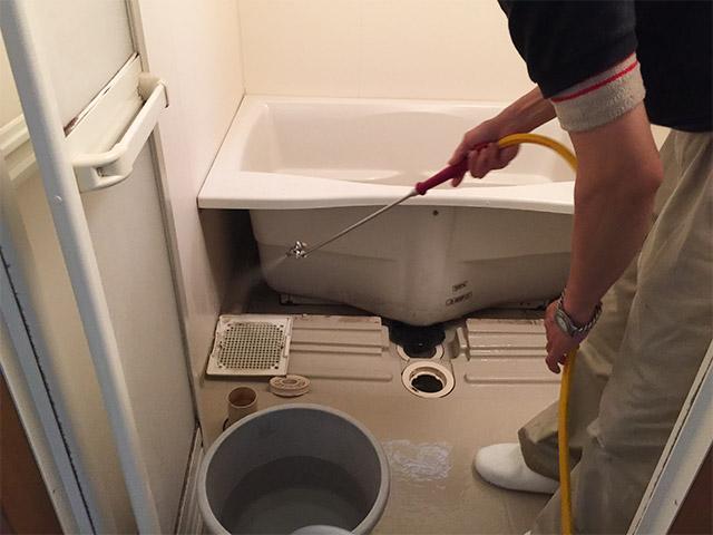 クリーンクラークの風呂掃除03