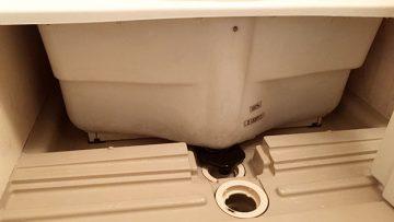 ハウスクリーニング「クリーンクラーク」で風呂桶の下を掃除してもらった