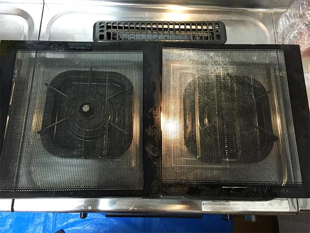 クリーンクラークの換気扇フィルター掃除05