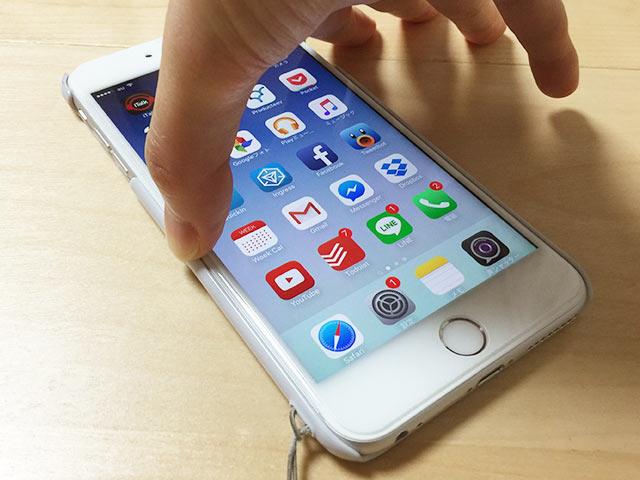 iPhone 6sのエッジプレスを右手で01
