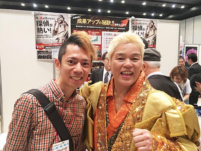 A8フェスティバル2015で神取忍さんにお会いした