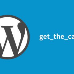 WordPressのループ外でカテゴリー名・カテゴリーID・カテゴリーのURL・スラッグを取得する方法