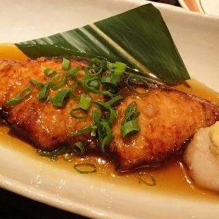 青葉台の和食料理屋「ひいらぎ」のランチで食べた煮魚定食がうまかった!