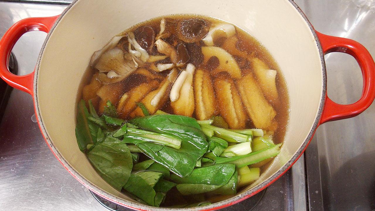 大谷家の2016年の雑煮の具材
