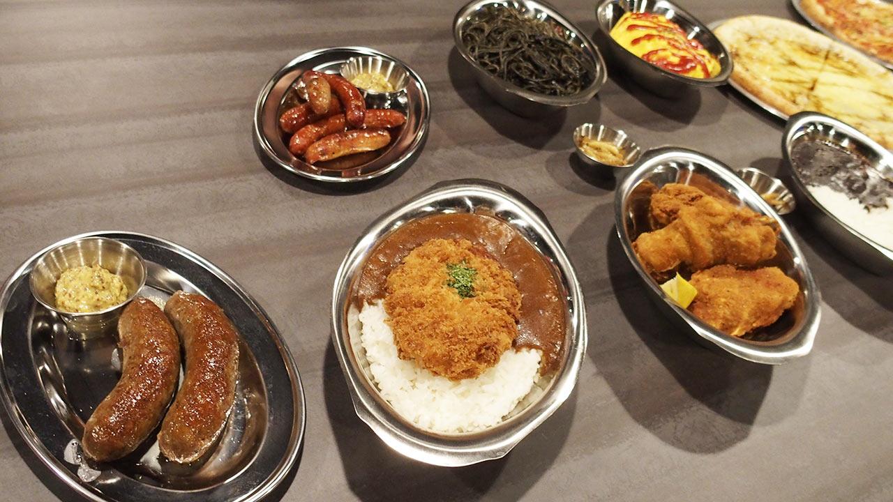 inSPYre(インスパイア)の食事
