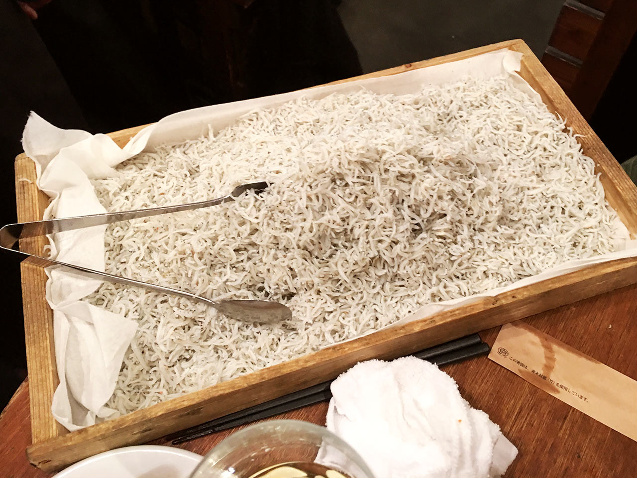 武蔵小杉のイタリアン酒場NATURAのsirasu