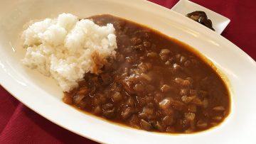 武蔵小山にあるフレンチ「レトロワ」のランチメニュー「ほほ肉のカレー」がうまかった
