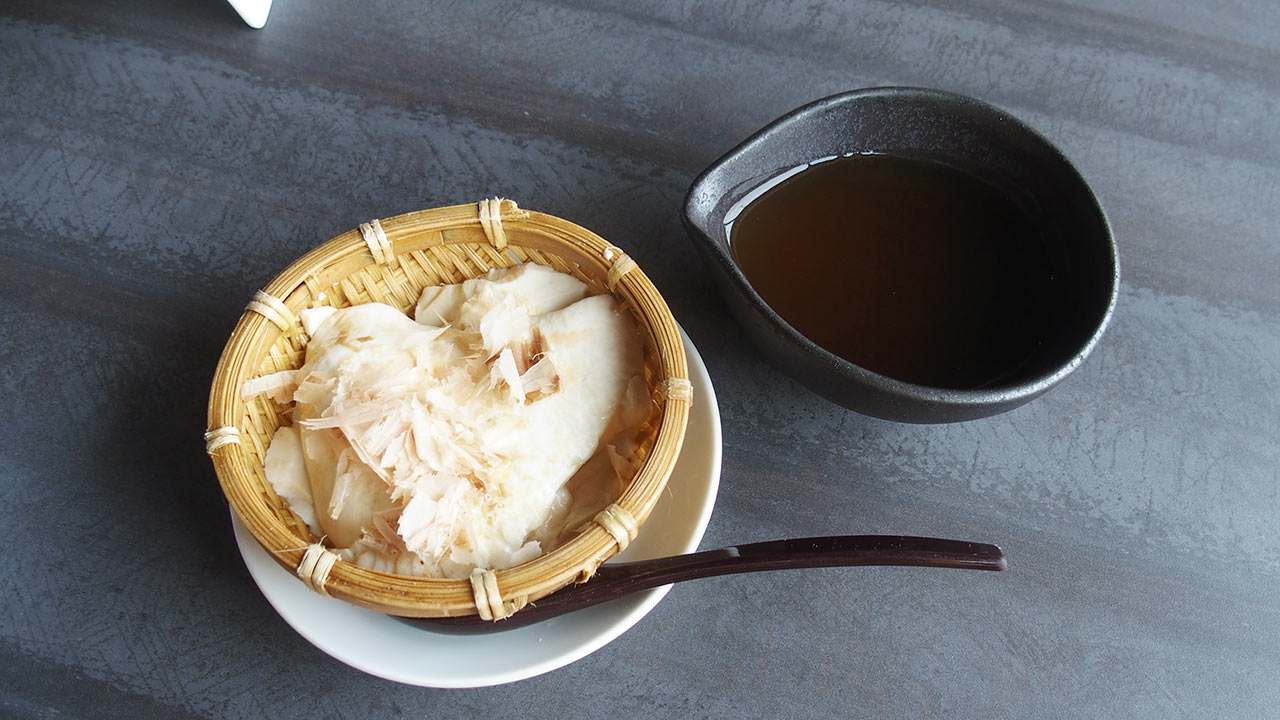 馬喰一代のランチの豆腐