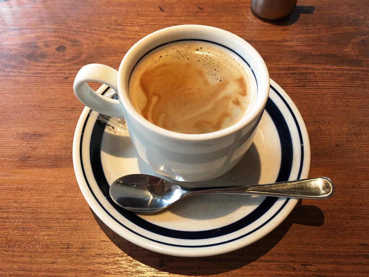 渋谷802の食後のコーヒー