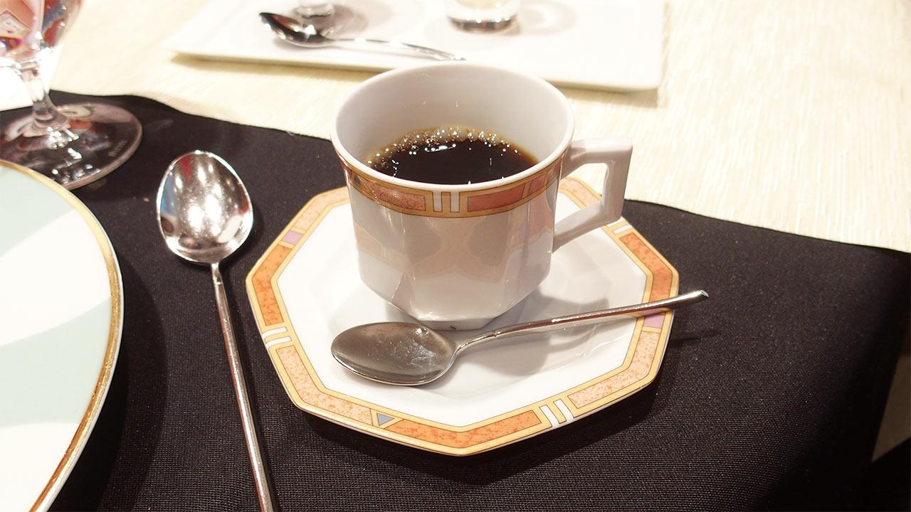 ラ・ロシェル山王の鹿児島フェアのコーヒー