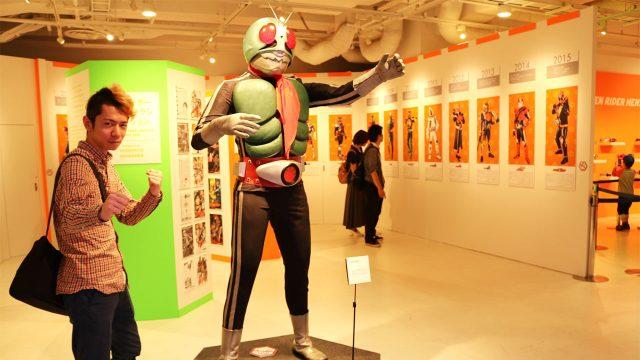 仮面ライダー45周年記念ショップ@渋谷PARCOに行ってきました