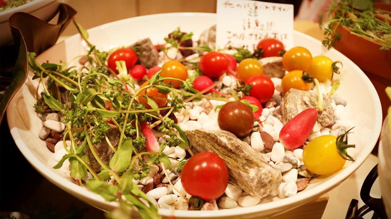 【閉店】フェルムドレギューム2周年記念「夜の野菜ビュッフェ」に行ってきました!