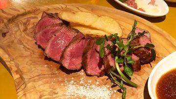 立川の「旭日食肉横丁」でうまい肉をたらふく食べてきた!特にRUMP CAPの牛肉がうますぎ!